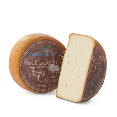 Caciotta smoked - by Agricansiglio dairy