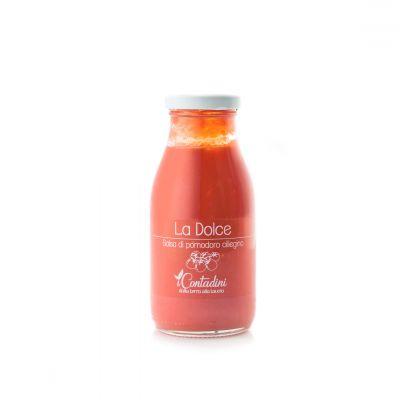 La 'dolce' passata di pomodoro ciliegino