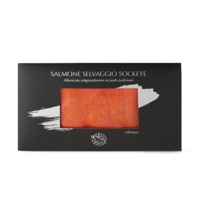 Salmone Selvaggio Sockeye - astuccio da 100 g