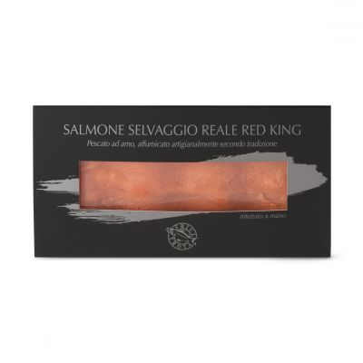 Salmone Selvaggio Red King in case