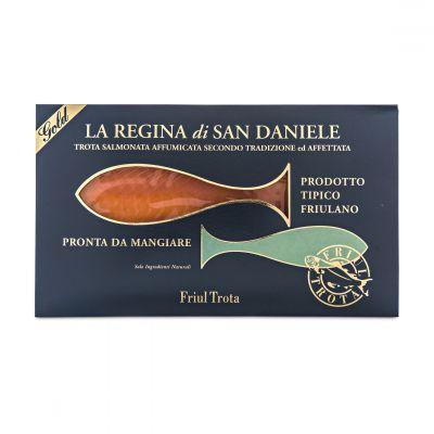 Cold Smoked Rainbow Trout - La Regina di San Daniele - 100 g
