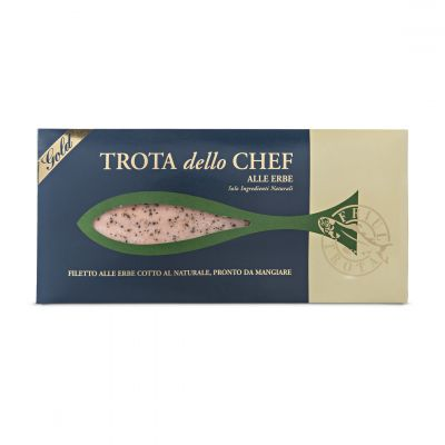 Steamed Trout Fillet with Herbs - Trota dello Chef alle Erbe