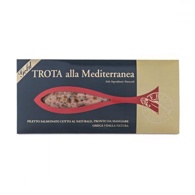 Steamed Trout Fillet - Trota dello Chef alla Mediterranea