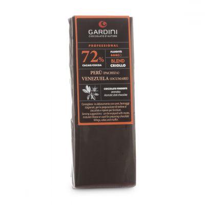 Cioccolato dello Chef -  72% Cru Fondente - 500 g