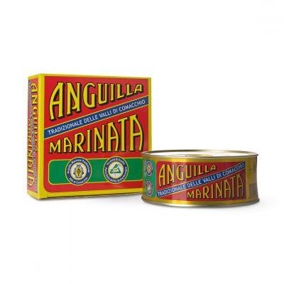 Anguilla marinata tradizionale di Comacchio