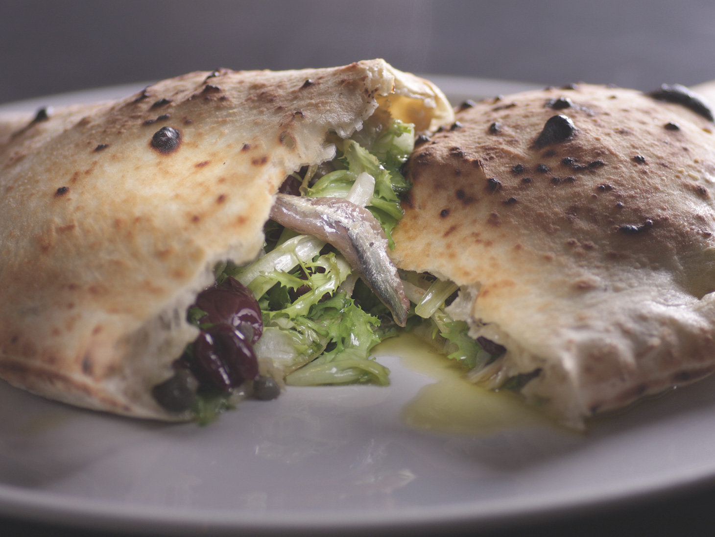 Calzone with Endive