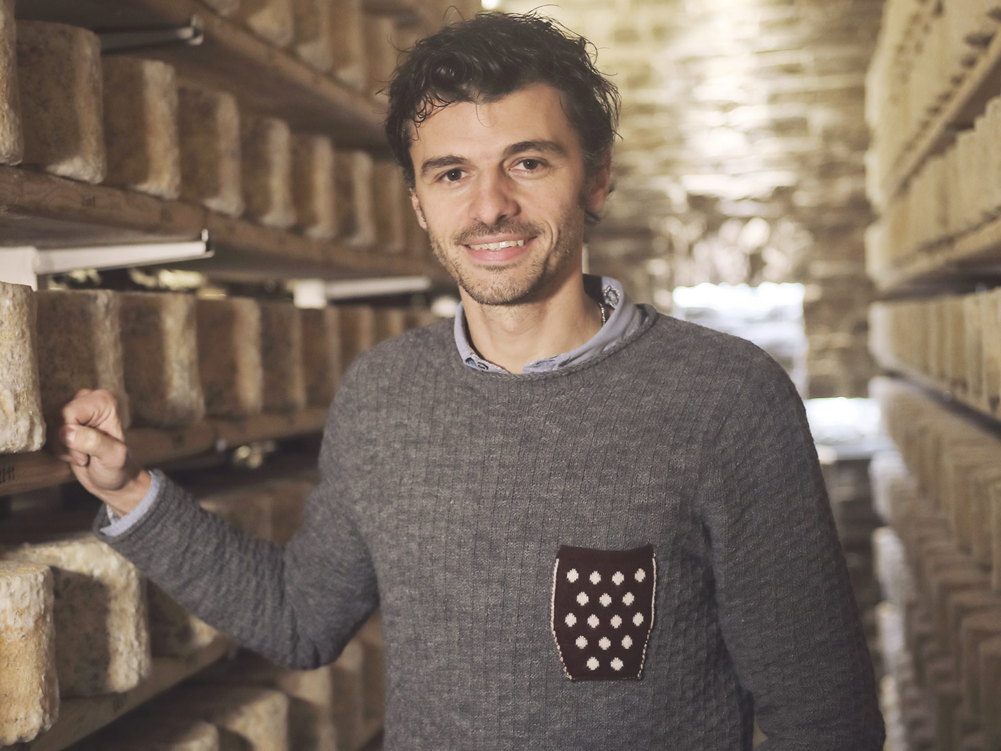 Montegrana cheeses: travelling in Piedmont