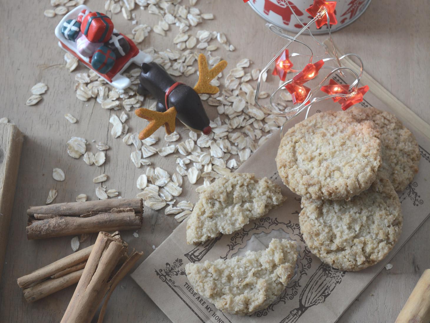 Biscotti con avena e cannella - Annamaria Pellegrino
