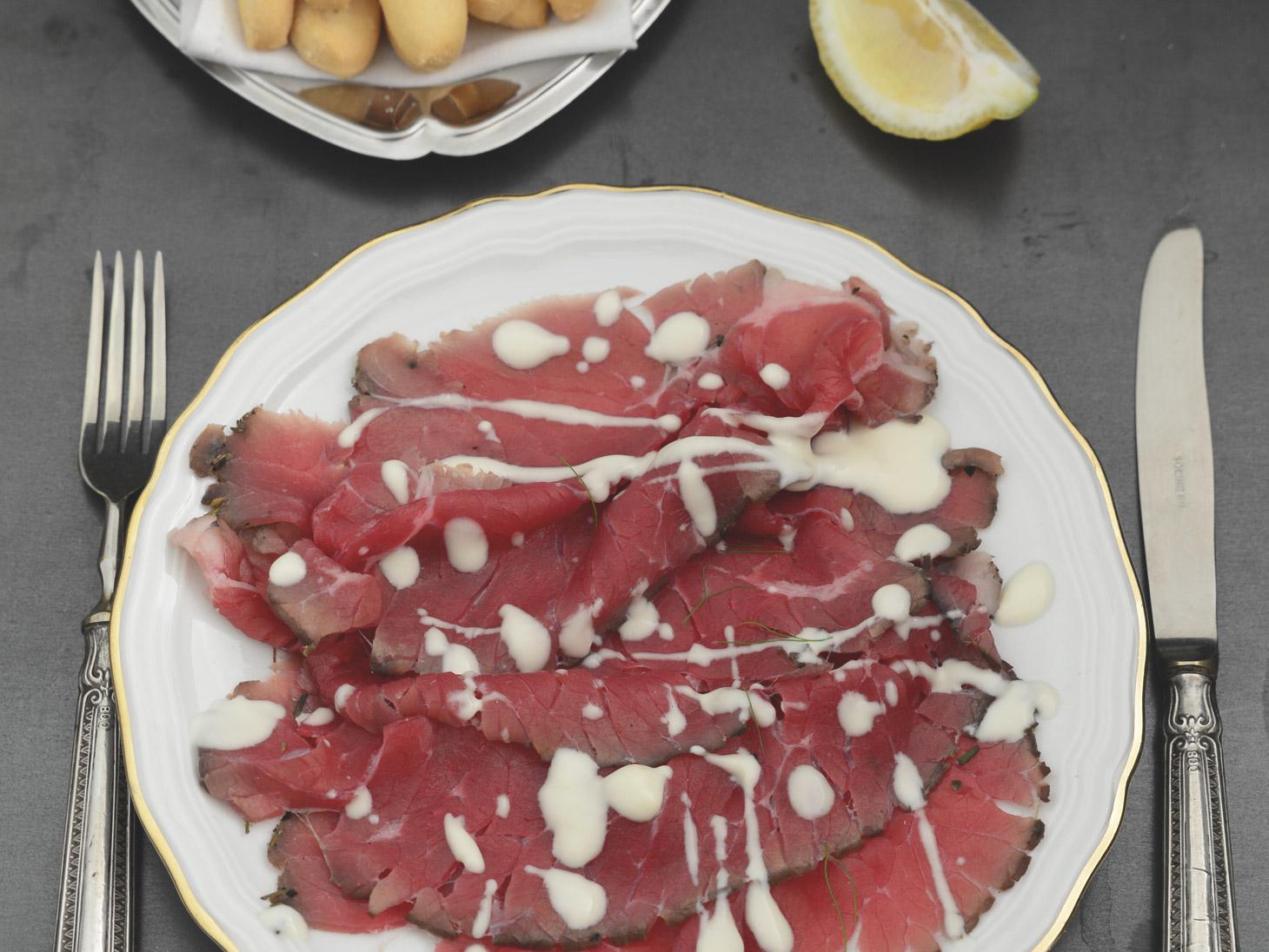 Carpaccio Carne Salada