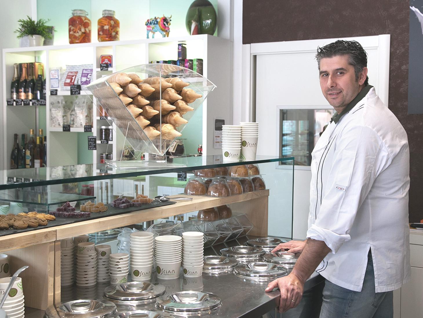 The Ice Cream Shop of Alessandro Scian