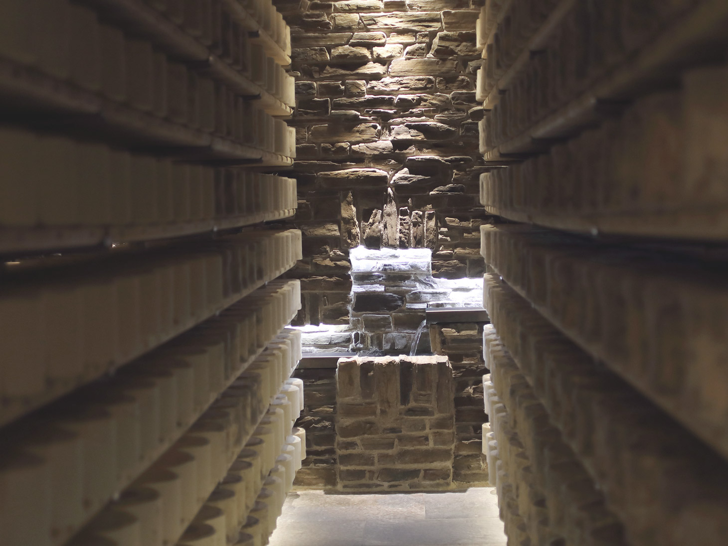 Montegrana - The aging cellar