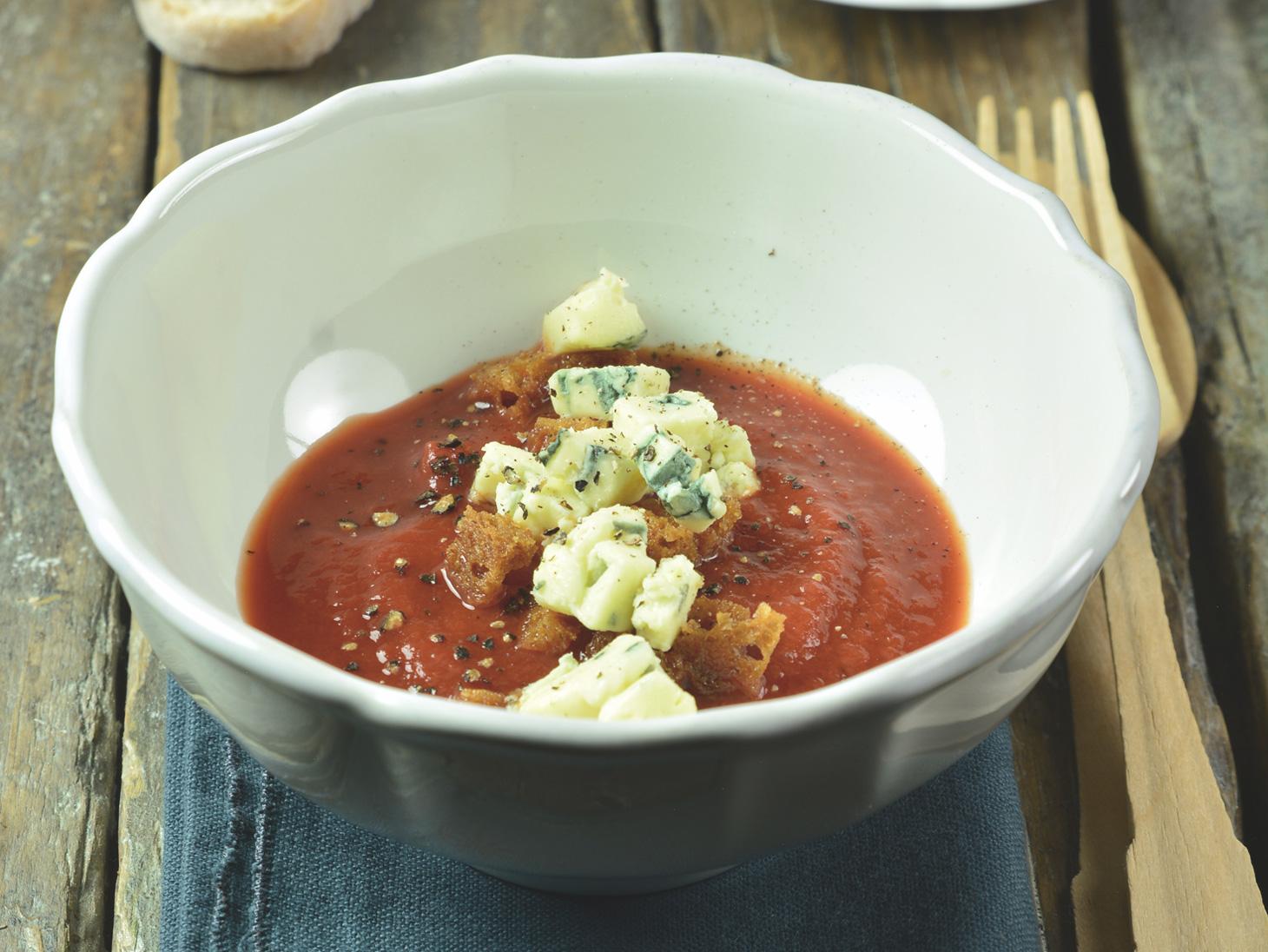 Zuppetta rossa con Chiriboga