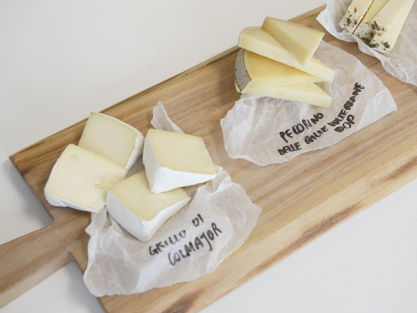 Presentazione formaggi