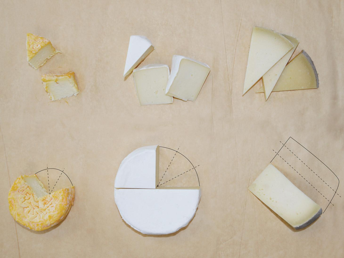 Come tagliare i formaggi